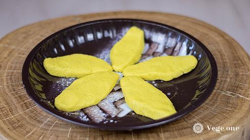 Кукурузные оладьи на воде - веганский пошаговый рецепт